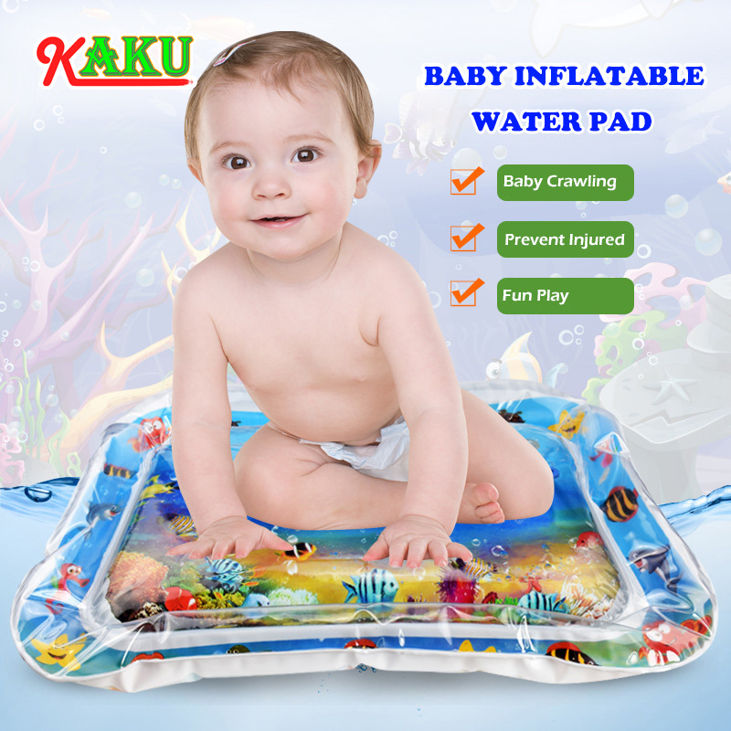 Baby Play Mat Kids Water Play Mat Toy Inflatable Infant Tummy Water Mat Fun Activity Play Center For Babies Toddler Activity Toy | Happy Baby Mama