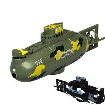 Rc submarine model wojskowy symulacja pilot łódź elektryczna mini łódź podwodna wysoka szybkość silnika dzieci łódź zabawka zabawny prezent tanie i dobre opinie Metal Żywica Z tworzywa sztucznego RUBBER 5-7 lat 8-11 lat 12-15 lat Dorośli Certyfikat Ready-to-go 23-25 min Electric