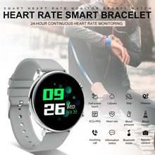 Смарт часы ip68 водонепроницаемый монитор сердечного ритма здоровья