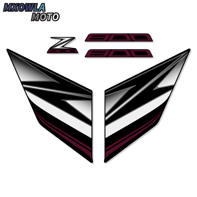 $ 33.93 For Kawasaki Z800 Z 800 2013 2014 2015 2016 Motorcycle Sticker Whole Car  Fairing  z800