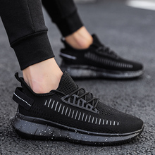 Men Casual Shoes Loafers Breathable Thin Mesh Sports Casual Running Shoes Mens Walking Shoes Fashion Sneakers