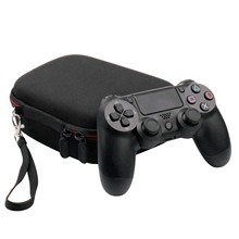 Bevigacポータブル耐震性バッグケースポーチ保存プレイステーションデュアルショック 4 PS4 ワイヤレスコントローラーゲームパッド