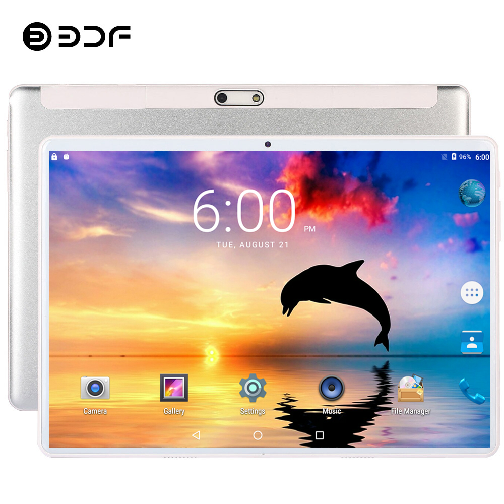 2020 New 10.1 Inch 3G Call Tablet Pc Android 7.0 CE Brand GPS Google Play WiFi 2.5D Tempered Glass 10 Inch Mobile Phone Tablets