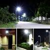 Solar thin Led street light sconces garden parking Waterproof IP65 100W outdoor Road lamp Wall spotlight torch AC110V 220V 6
