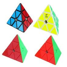 Yuxin Huanglong Пирамида Кубик Рубика трехслойная Пирамида Магнитная версия цветной ненормальный кубик детская развивающая игрушка