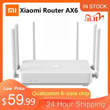 Redmi Router Antennas Signal-Amplifier Gigabit Mesh Dual-Band AX6 Xiaomi Wifi 6 Home