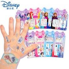 Мультфильм Замороженные 2 Эльза и Анна макияж игрушки наклейки