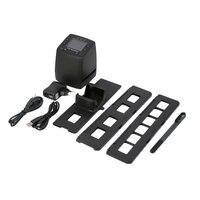 Protable Negative Film Scanner 35mm Slide Viewer Scanner USB Digital Color Photo Scanner Slide Film Converter 2.4 LCD EU PLUG