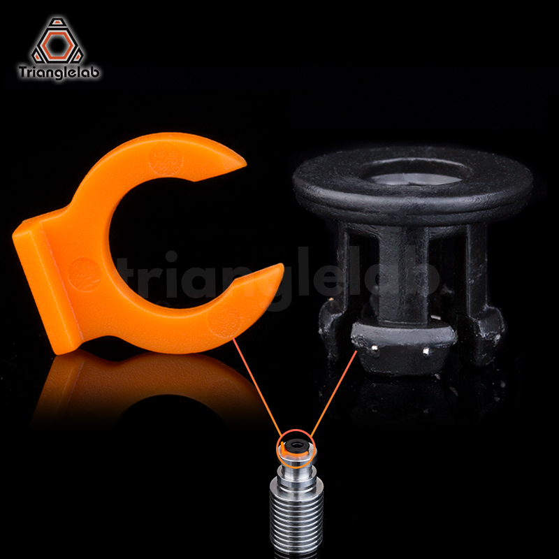 trianglelab CLIP Pipe clamp Bowden Coupling for Metal for E3D heatsink bowden tube collet for trianglelab CR10 HEATSINK HOTEND