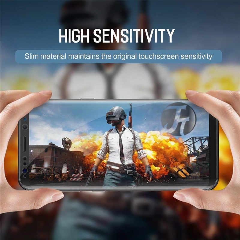 5 Pcs Hidrogel Pelindung Layar untuk Samsung Galaxy Note 8 9 S9 S8 Plus NOTE8 Film untuk Samsung S9 s8plus A70 60 80 60 40 A10