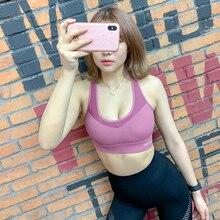 Sport Bra Top Breathable Sports Bra Sports Bra Fitness Yoga Bra Back Meshed Running Sexy Lady Sportswear Sports Top цена и фото