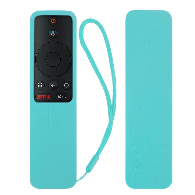 Pokrowce na Xiaomi Mi TV, pudełko s Bluetooth Wifi inteligentny futerał na pilota silikonowy, odporny na wstrząsy ochronny, przyjazny dla narciarzy