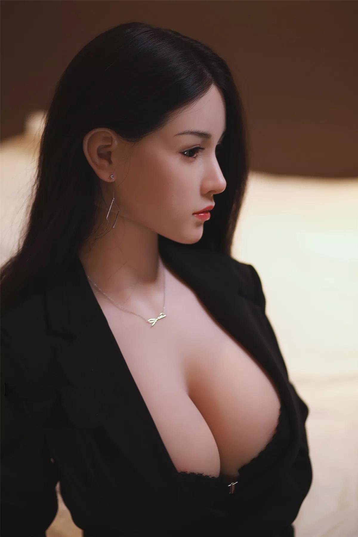 H9481d1c1c4d8476ea80c137da994353cK Muñecas sexuales de silicona Real para hombres adultos, Robot de amor de Anime japonés de 158cm, juguetes realistas de vida para hombres, con pecho grande y completo, Vagina y atractiva