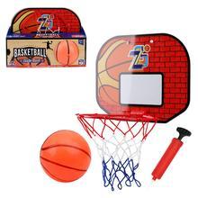 Детская подвесная баскетбольная площадка, обруч для баскетбола в помещении, мини-баскетбольная доска, семейная корзина, набор игрушек для д...