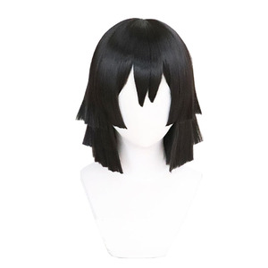 Image 5 - DIOCOS Anime Demon Slayer Kimetsu No Yaiba Iguro Obanai Cosplay Wigs Costumes White Snake Props