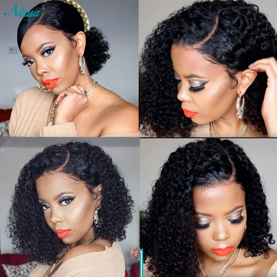 Newa Hair Full Lace Human Hair Wigs With Baby Hair Curly Full Lace Wigs For Black Women Short Remy Human Hair Bob Wigs Human Hair Lace Wigs Aliexpress