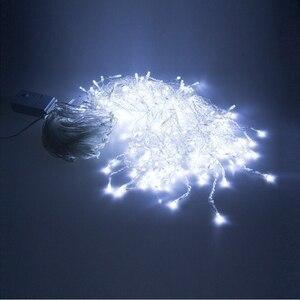 Image 2 - Luces LED intermitentes para Festival de Navidad, 10m x 0,5 m, 320 v 110v, enchufe EU, US, AU, Noel