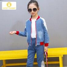 Girls Jean Jacket Baseball Demin Coat Jean Western Cowboy Outfit Single Jacket юбка demin