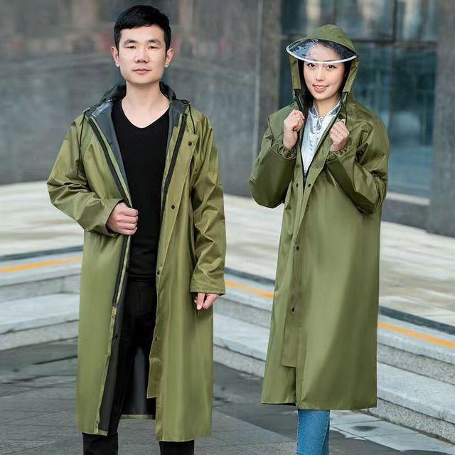 дождевик прозрачный непромокаемый для женщин и непродуваемый фотография