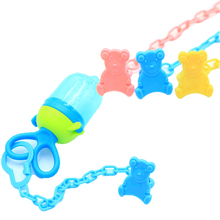 1pcs Baby Care Pacifier Clips Funny Nipple Teethers pacifier AccessoriesToy Holder Chain Drop-resistant Belt 2019 Hot