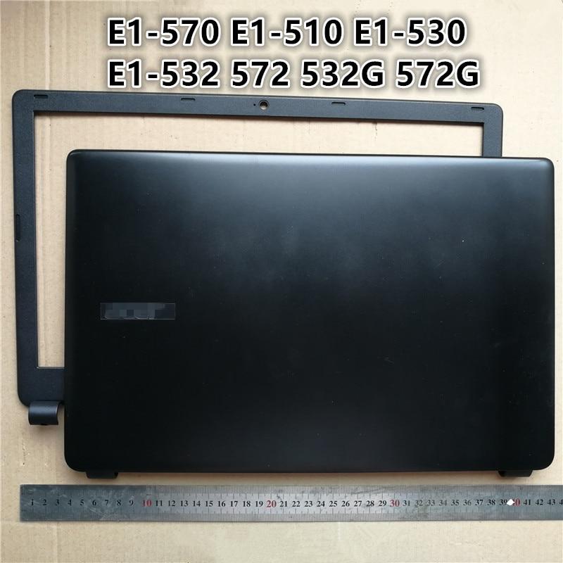 New For  Acer Aspire E1-510 E1-530 E1-552 E1-532 Rear Lid Lcd Back Cover Black