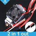 Mellow 12 v/24 v Cyclops und Chimäre Extruder 2 In 1 Heraus 2 farben Hotend Bowden mit Titan /Bulldog Extruder für 3D Drucker I3