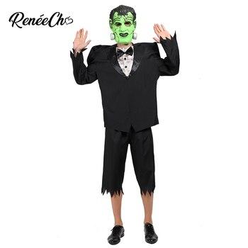 Disfraz de reneeecho Big franco para hombre Hulk disfraz de monstruo de talla grande 2019 disfraces de Halloween chaqueta pantalones traje de máscara