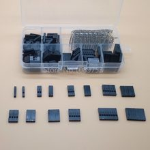 310Pcs 2.54mm Female+Male Dupont Wire Jumper And Header Connector Housing Kit Best Price New Electric Unit Electronics Stocks