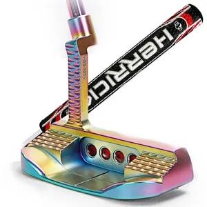 Image 2 - 골프 클럽 퍼터 스틸 소재로 다채로운 퍼터 Mens33/34/35 inch 배포 헤드 커버 3 가지 특혜