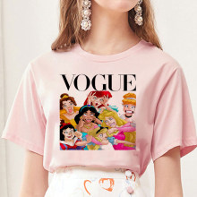 Le donne 2020 di Estate Graphic Tee Shirt Femme Divertente Principessa Vogue Harajuku T-Shirt Coreano Top Kawaii Streetwear Camiseta Mujer(China)