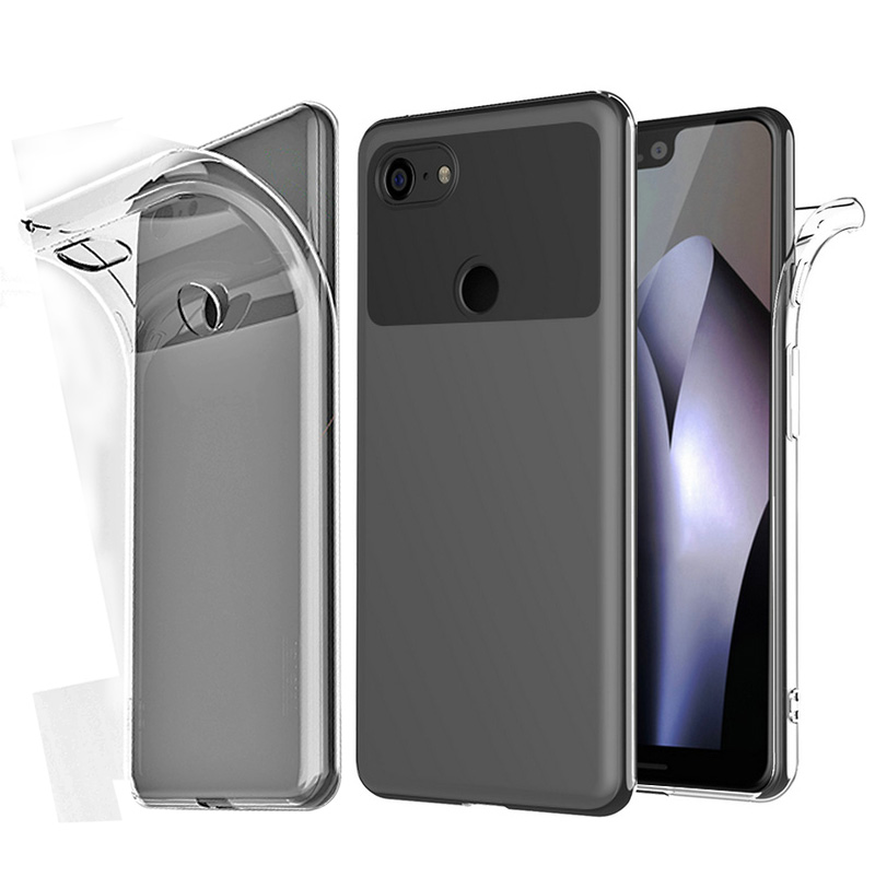 Cherie Shockproof Case For Google Pixel 2 3 3A 4 XL Cover Clear Soft TPU Transparent Case For LeEco Le Cool 1 Max 2 Pro 3 1S S3(China)