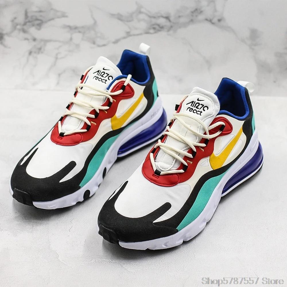 HOT Men's Shoes Nike Air Max 270 React Bauhaus Sport Running Shoes 270  react Men