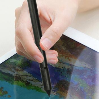 1Pc Universal Phone Tablet Soft Tip Touch Screen Pen Drawing Stylus for Android iPhone iPad стилус image