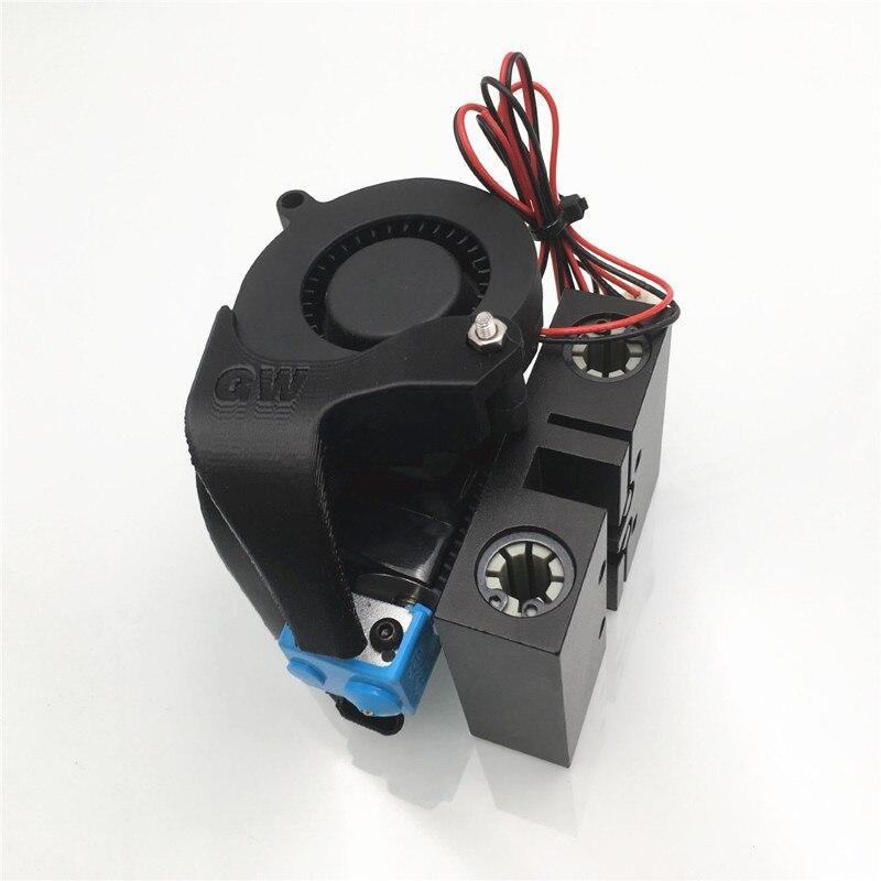 1 ensemble Anet A8 Prusa i3 3D imprimante X chariot avec V6 bowden hotend mise à niveau 12/24V tout métal X axe chariot bowden extrudeuse kit