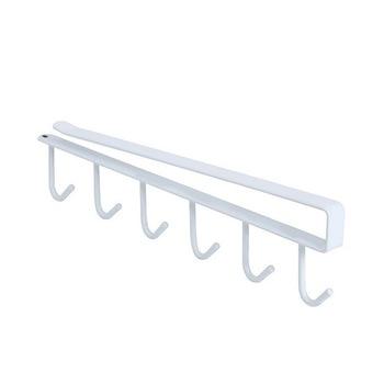 Kitchen Hanger Iron Hooks Shelf Free Of Punch Rack Multifunction Hanger For Kitchen Gadgets Cabinet Cupboard Dish Organizer 8