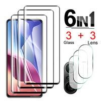 Protector de pantalla de cristal templado para Xiaomi Poco X3 NFC M3 F3, lentes de cámara protectores, película para Xiaomi Poco F3 X3 M3, X 3 M 3 2 F 3