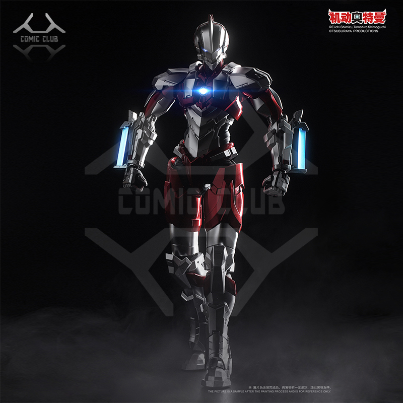 Bande dessinée en STOCK métal construire MB 1/6 Ultraman Type B Hayata Shinjiro Ver. Par e-model Anime Action fini Robot jouets Figure