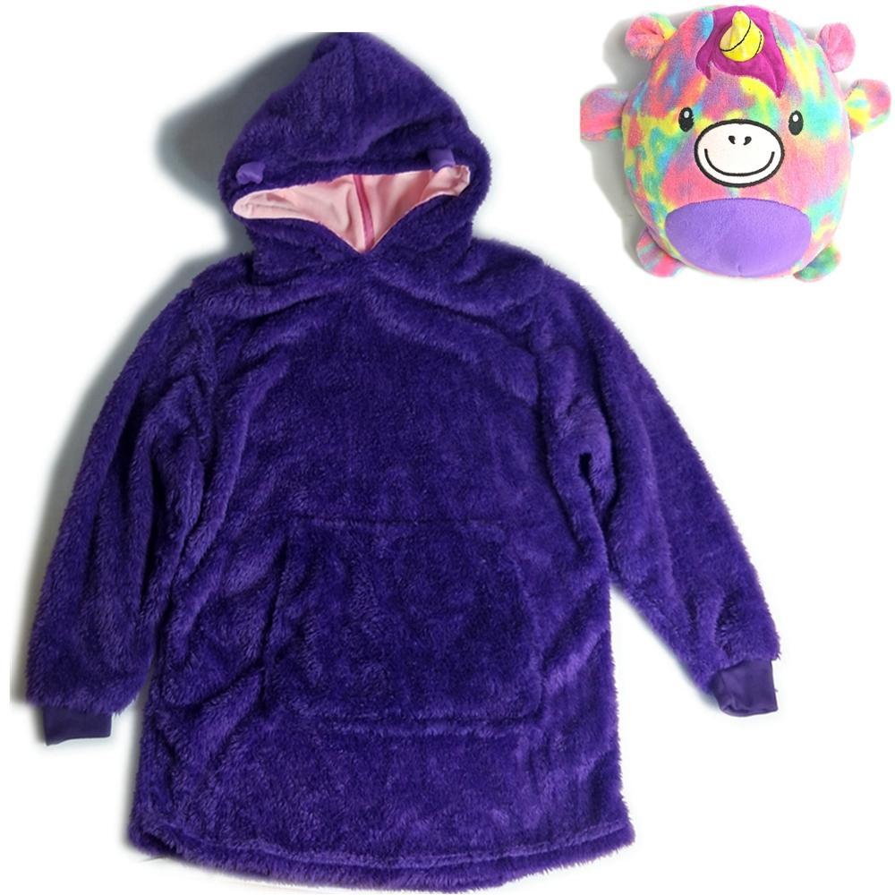 Huggle Pets Hoodie Dinosaur Hooded Sweatshirt Warm Winter Hooded Coats Bathrobe Fleece Pullover For Children For Christmas Gift Aliexpress