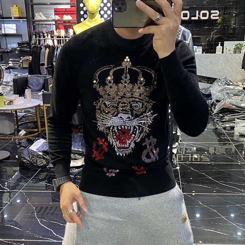 Fashion Sweaters YK11688 2021 Runway Luxury famous Brand European Design party style Men's Clothing