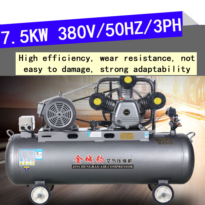 Air Compressor220v,380v,MINI Compressor,Oil-free Air Compressor,7.5kw Piston Type Air Compressor, No.1 Sales In China