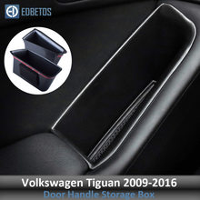 For Volkswagen Tiguan 2009 2010 2011 2013 2014-2016 Door Handle Armrest Container Holder Tray Storage Box Organizer Accessories(China)
