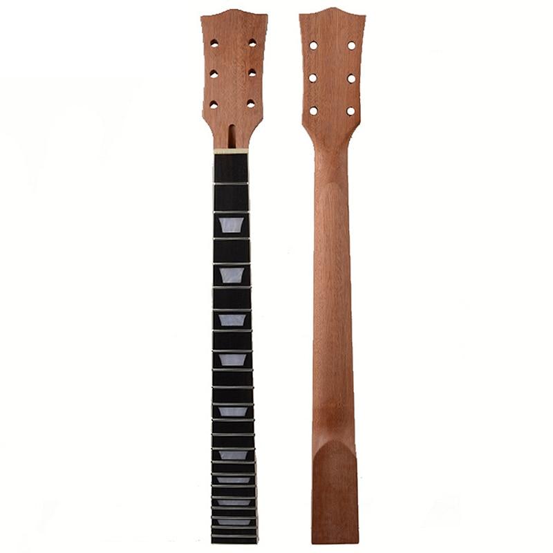 22 secteur de touche de palissandre d'acajou de cou de guitare de Lp de Fret et incrustation de liaison pour le remplacement de cou de guitare électrique de Lp - 3