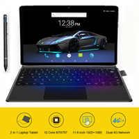 11.6 pouces tablette 2 en 1 ordinateur portable tablette avec clavier Ultrabook type-c MT6797 X20 10 cœurs Android 8.1 1920*1080 128GB ROM
