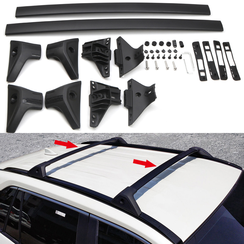 08-12 Aluminium locking roof bars Ford Kuga