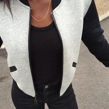 Hip Hop Winter Jacket Women College Sportswear Fleece Jaqueta Feminina Jacket And Button Women Jacket Sweatshirt