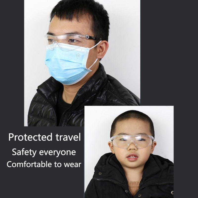Anti-dust Anti-droplets Goggles Adjustable Eyewear Unisex High Definition Fog Blocking Antivirus Glasses Safety Goggles 2020