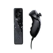 Voor Wii Controller Zonder Motion Plus Afstandsbediening Met Nunchuck Voor Nintend Wii Gamepad Draadloze Joystick