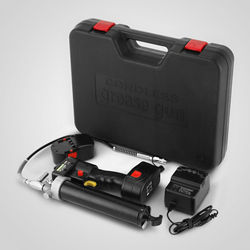 Electrical Grease Gun Cordless Battery 18V 107cm 8000PSI Heavy + 2 Batteries