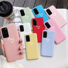 Luxury Matte Phone Case For Samsung Galaxy  S6 S7 Edge S8 S9 S10 S20 Plus Cute Soft TPU Cover Case For Samsung Galaxy S20 Ultra kinston full body cover case for samsung galaxy s6 edge