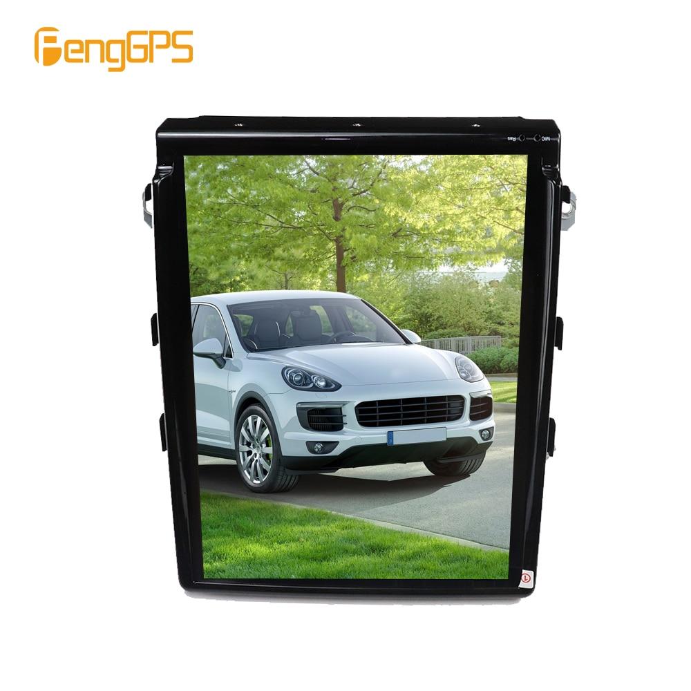 "10.4"" Vertical Screen Tesla 1024*768 Android Car DVD GPS Navigation Radio Audio Player for Porsche Cayenne 2012+ RAM 2GB 4 Core"